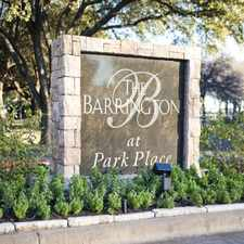 Rental info for Barrington at Park Place in the Austin area