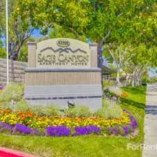 Rental info for Sage Canyon
