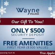 Rental info for Wayne Village