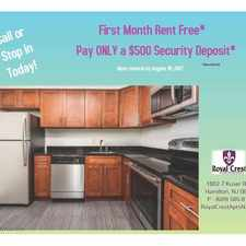 Rental info for Royal Crest Apartments