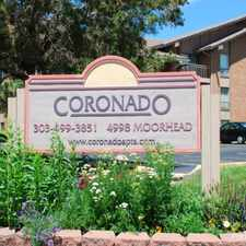 Rental info for Coronado Apartments in the Boulder area