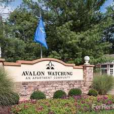 Rental info for Avalon Watchung