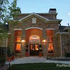 Rental info for Rosemont Ridge at Lowry in the Aurora area