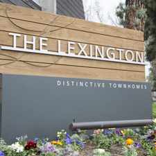 Rental info for Lexington Townhomes