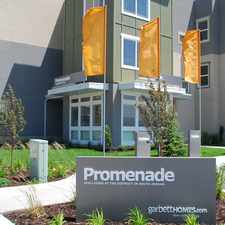 Rental info for Promenade at The District in the 84095 area