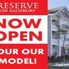 Rental info for Reserve on Salisbury