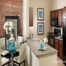 Rental info for The Apartments at Cotton Mill