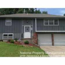 Rental info for 406 E 90th Ter in the Bonne Hills area