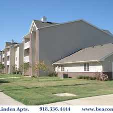 Rental info for The Best Living in Bartlesville Oklahoma is at The Linden Apartments