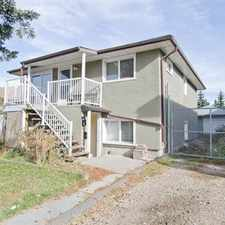 Rental info for 50% OFF MAY RENT! RENOVATED & SPACIOUS MAIN FLOOR in the Forest Lawn area
