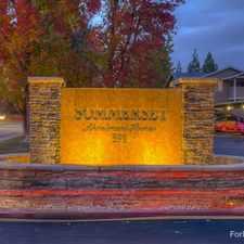 Rental info for Sommerset Apts.