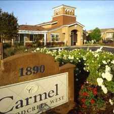 Rental info for Carmel at Woodcreek West Apartments