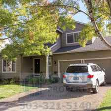 Rental info for Fantastic Newer Home in Beautiful Sherwood!