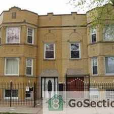 Rental info for Spacious updated 2 bedroom 1 bath apartment in the Chicago area