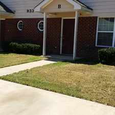 Rental info for LARGE DUPLEX WITH BEDROOM OR OFFICE ON THE MAIN!