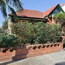 Rental info for DEPOSIT TAKEN- FREESTANDING CHARACTER FAMILY HOME in the Bondi Junction area