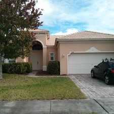 Rental info for 3 BEDROOM , 2 BATH HOUSE WITH 2 CAR GARAGE