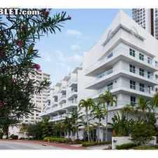 Rental info for $2200 1 bedroom Loft in Miami Beach