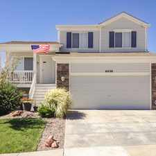 Rental info for SOLD-Well-kept Home in Stetson Hills! in the Colorado Springs area