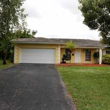 Rental info for 10370 NW 40th Pl