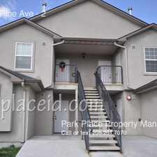Rental info for 1053 W Pine Ave