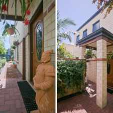 Rental info for TWO STOREY HOME - 4 X 2 MAYLANDS in the Perth area