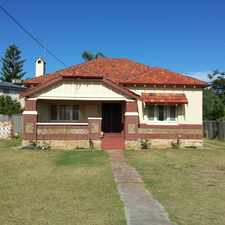 Rental info for Well presented 3 x 1 Period Home