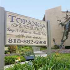 Rental info for Topanga Canyon Apartments in the West Hills area