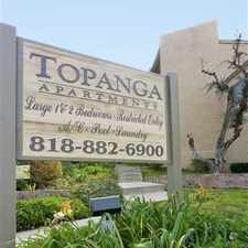 Rental info for Topanga Canyon Apartments in the Chatsworth area