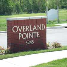 Rental info for Overland Pointe Townhomes