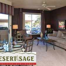 Rental info for Desert Sage Apartments