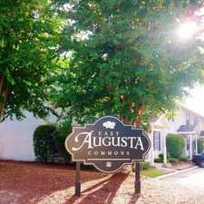 Rental info for East Augusta Commons in the North Augusta area