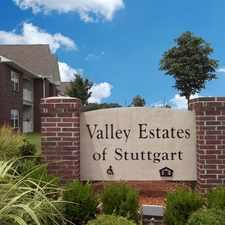 Rental info for Valley Estates of Stuttgart