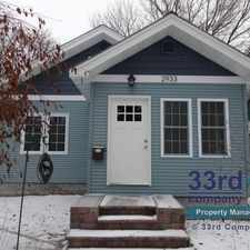Rental info for 2933 35th Avenue South in the Longfellow area
