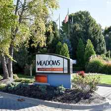 Rental info for Meadows Apartment Homes