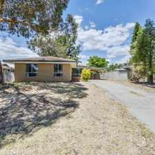 Rental info for Solid 3 x 1 in East Cannington in the Perth area