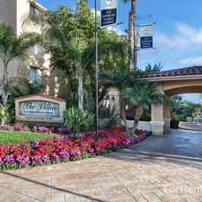 Rental info for The Villas at Rancho Palos Verdes in the Los Angeles area