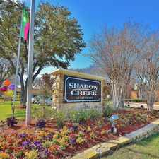 Rental info for Shadow Creek in the 76180 area