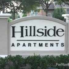 Rental info for Hillside Community