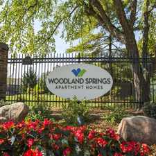 Rental info for Woodland Springs Manor