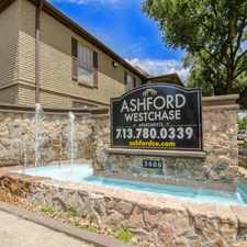 Rental info for Ashford Westchase in the Westchase area