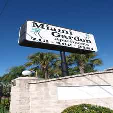 Rental info for Miami Gardens in the Houston area