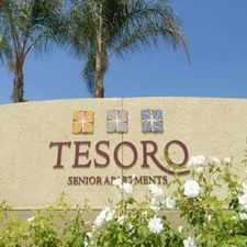 Rental info for Tesoro Senior Apartments