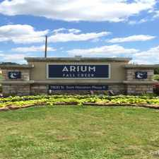 Rental info for ARIUM Fall Creek