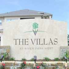 Rental info for Villas at River Park West