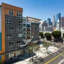 Rental info for AVA Little Tokyo in the Downtown area