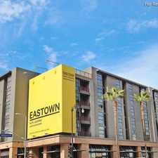 Rental info for Eastown in the Los Angeles area