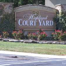 Rental info for Highland Courtyard Apartments