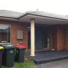 Rental info for 3 BEDROOM UNIT - GLEN WAVERLEY SCHOOL CATCHMENT AREA