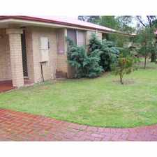 Rental info for FRONT STAND ALONE STRATA HOME! in the Perth area
